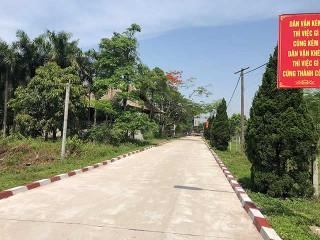 Cần bán lô 100m2 ngay ngã ba DT420 tiếp giáp khu CNC Hòa Lạc lãi ngay thời điểm mua