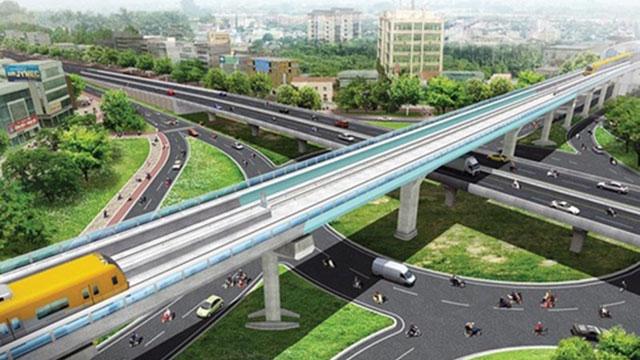 Đường sắt đô thị Văn Cao - Hòa Lạc có tốc độ thiết kế tối đa 120km/h