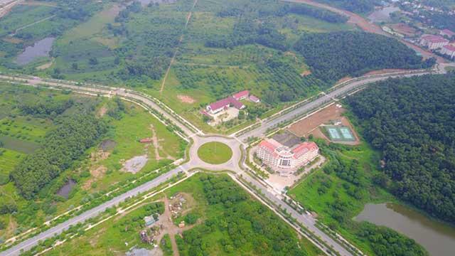 Quy hoạch xây dựng trường Đại học Quốc tế rộng hơn 9ha tại Hòa Lạc