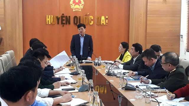 Tập đoàn Vingroup trao đổi nghiên cứu các dự án tại huyện Quốc Oai cùng Bí thư Huyện ủy, Chủ tịch UBND