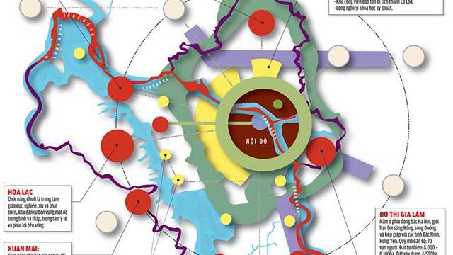 Tiến độ quy hoạch phân khu 5 đô thị vệ tinh Hà Nội không thể chậm trễ