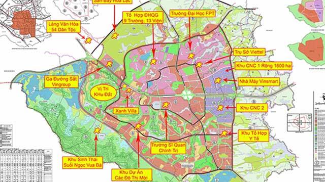 Có nên mua đất khu công nghệ cao Hòa Lạc?