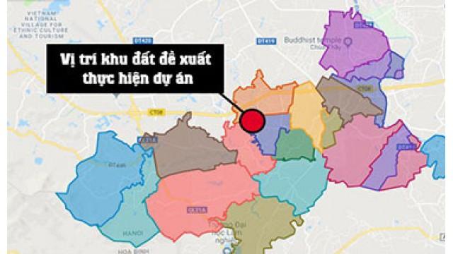 Vingroup đề xuất xây khu đô thị 860ha ở huyện Quốc Oai - Hà Nội