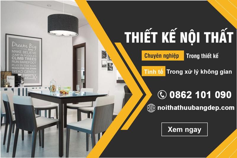 Thiết kế nội thất chuyên nghiệp tại Nội Thất Hữu Bằng