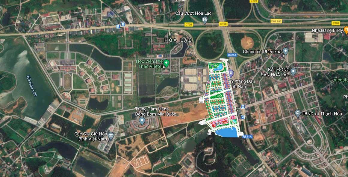 Tiện ích dự án biệt thự V Melody Villas Hòa Lạc