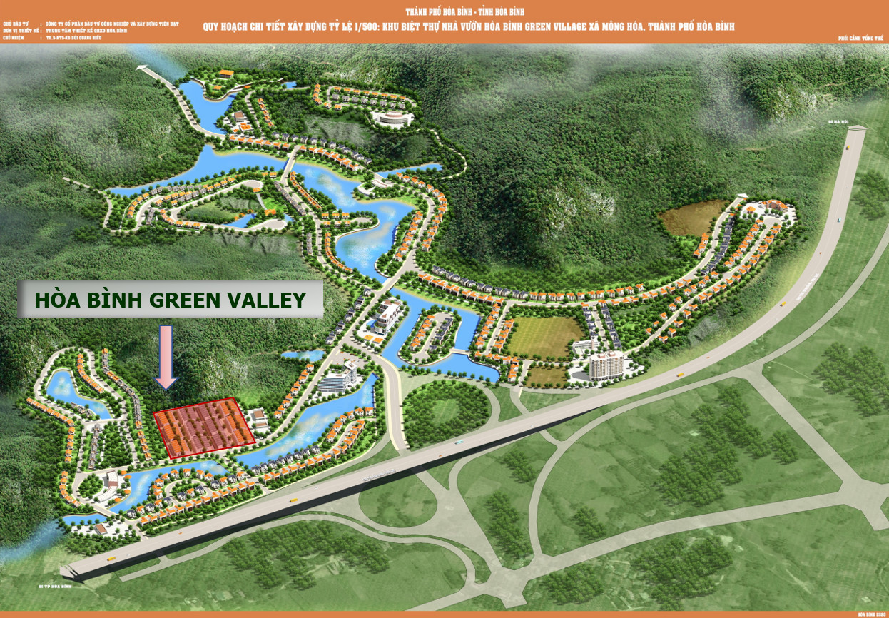 Xung quanh dự án Hòa Bình Green Valley rất nhiều dự án