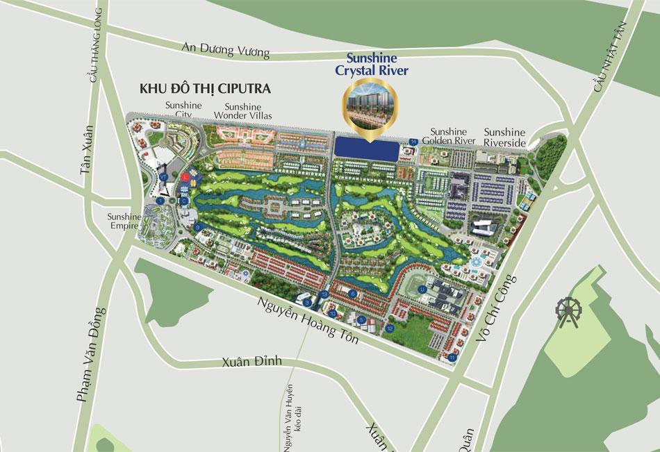 Tiện ích dự án Sunshine Crystal River