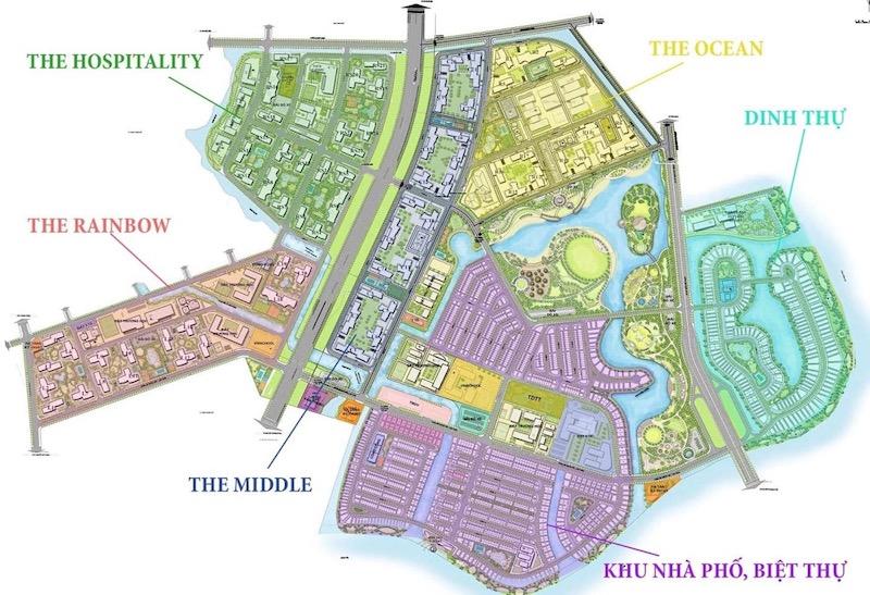 Mặt bằng dự án Vinhomes Grand Park