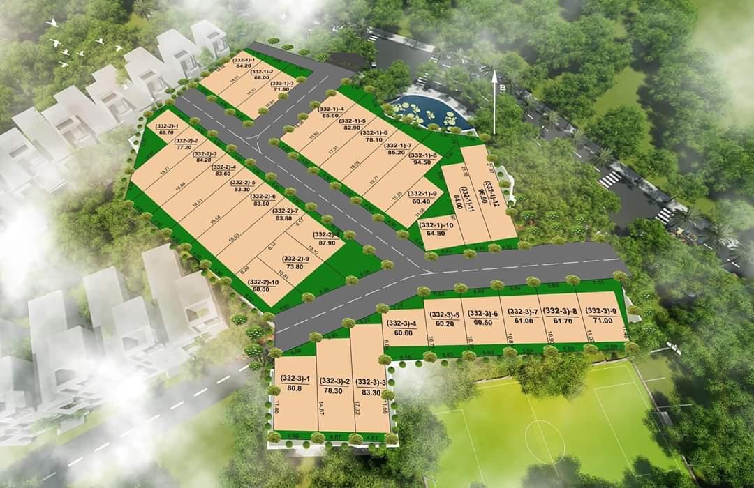 Bản đồ quy hoạch khu dự án Vingroup dự kiến xây dựng