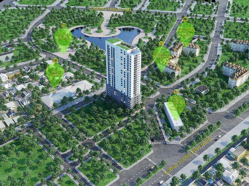 Phối cảnh thiết kế chung cư Luxury Park Views