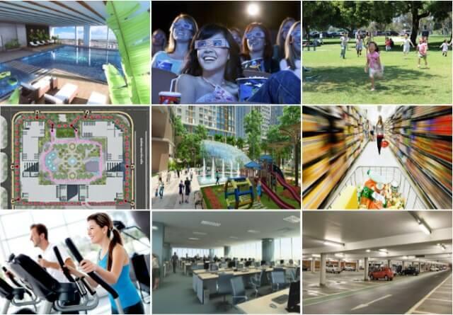 Tiện ích dự án chung cư Eco Green City - 286 Nguyễn Xiển
