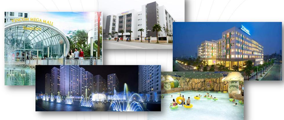 Liên kết vùng dự án Vinhomes Metropolis