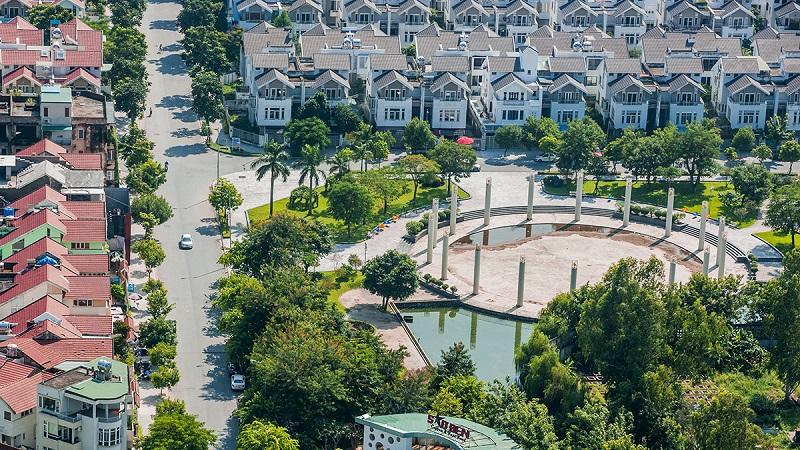 Hình ảnh thực tế khu đô thị Văn Phú