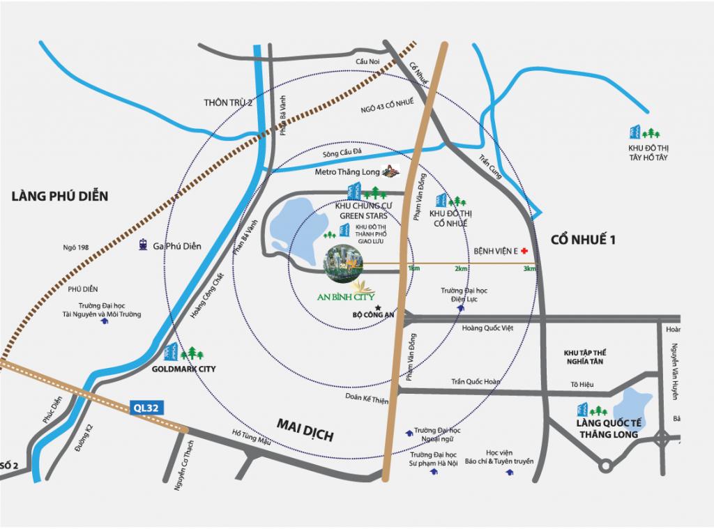 Mặt bằng thiêt kế dự án chung cư An Bình City