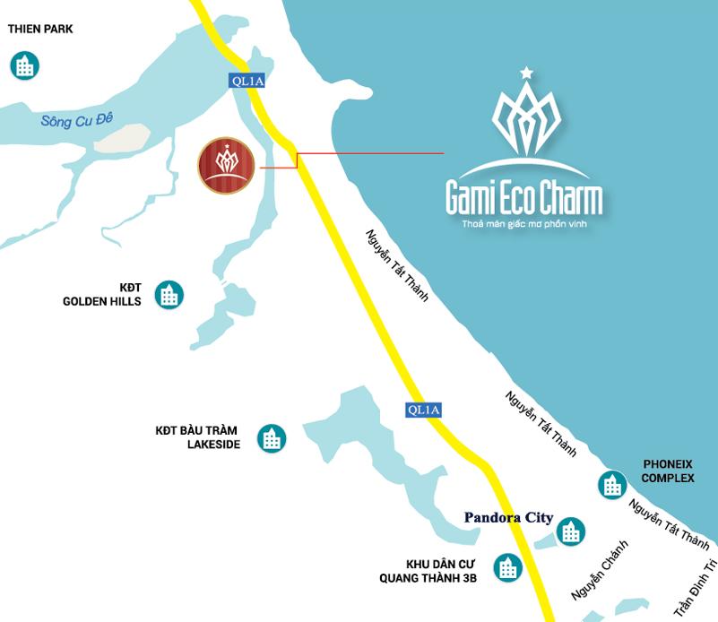 Phối cảnh biệt thự Gami Eco Charm