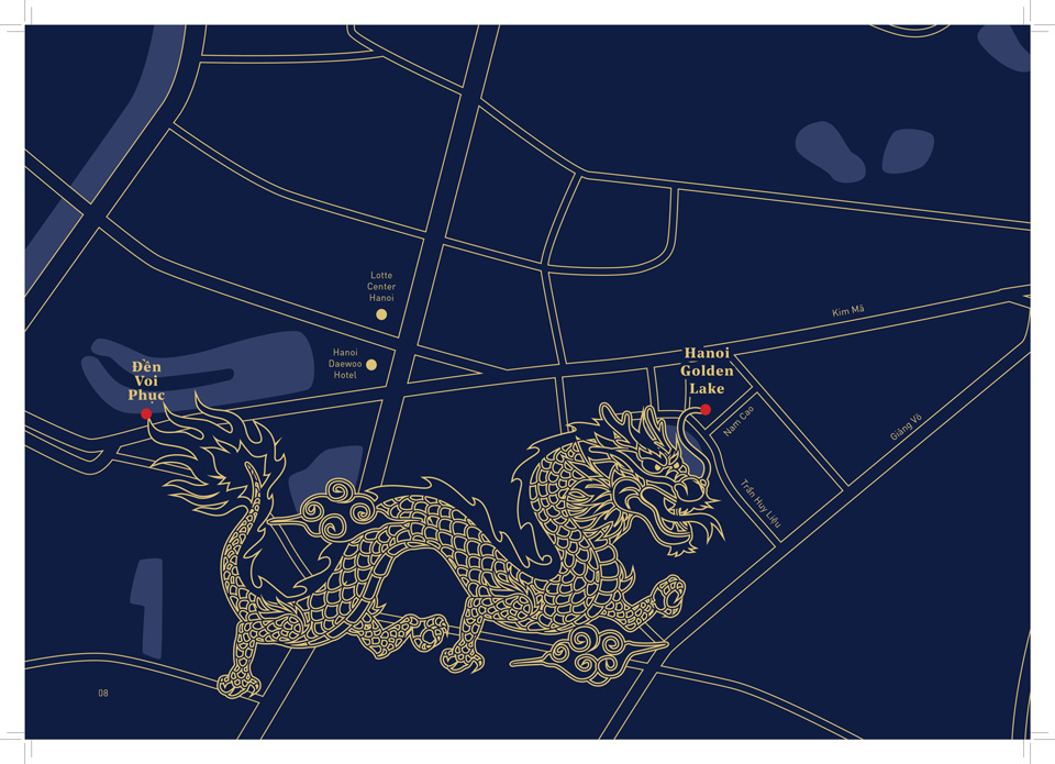 Vị trí dự án Hanoi Golden Lake