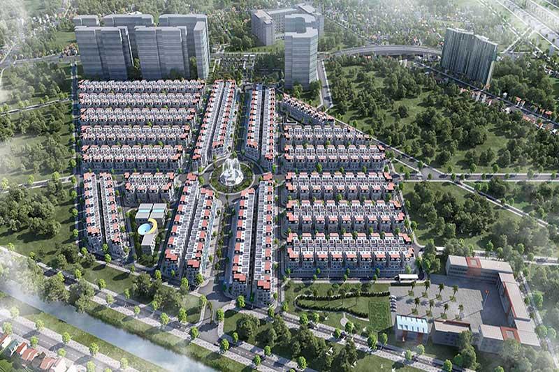 Vị trí dự án biệt thự Will State Dương Nội