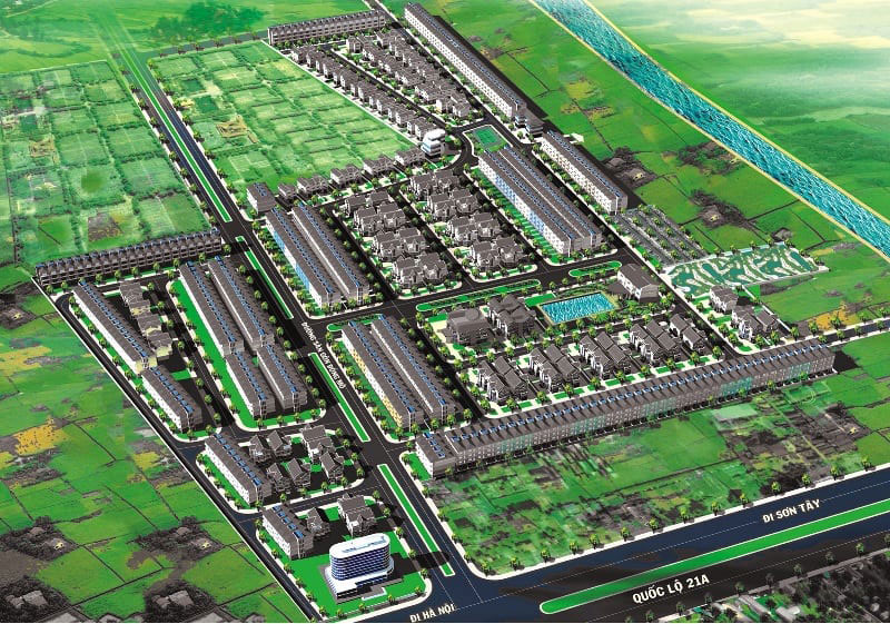 Vị trí dự án Hòa Lạc Premier Residence