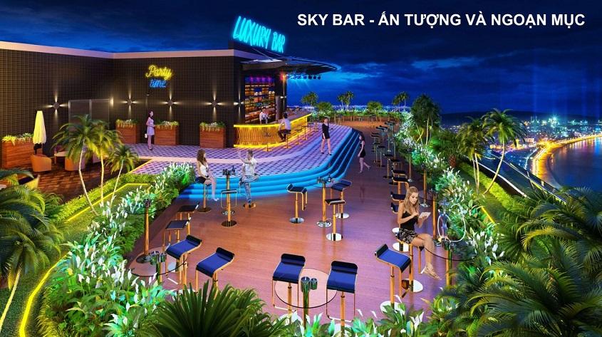 Sky Bar độc đáo trên tầng 42 tòa TMS Quy Nhơn