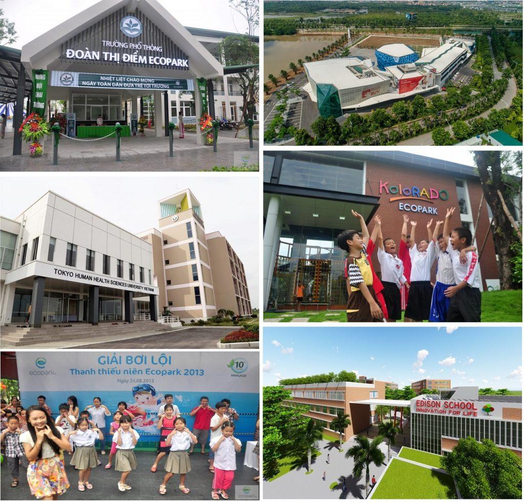 Vị trí chung cư Sky Oasis trong khu đô thị Ecopark