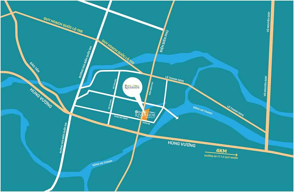 Mặt bằng tiện ích Chung cư EcoLife Riverside Quy Nhơn