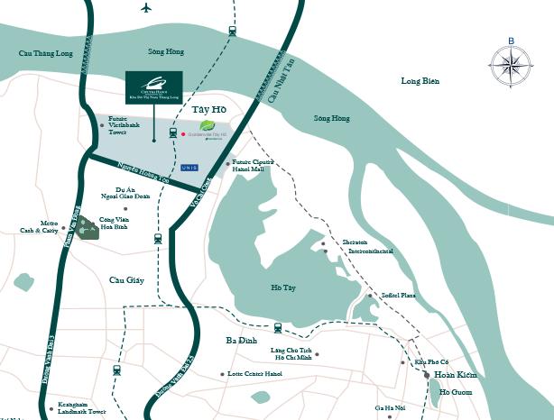 Hệ thống tiện ích khu đô thị Ciputra Hà Nội