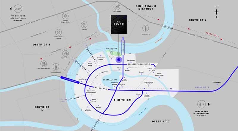 Dịch vụ tiện ích khu căn hộ The River Thủ Thiêm