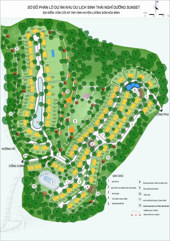Vị trí dự án Panorama Hill Lương Sơn Hòa Bình