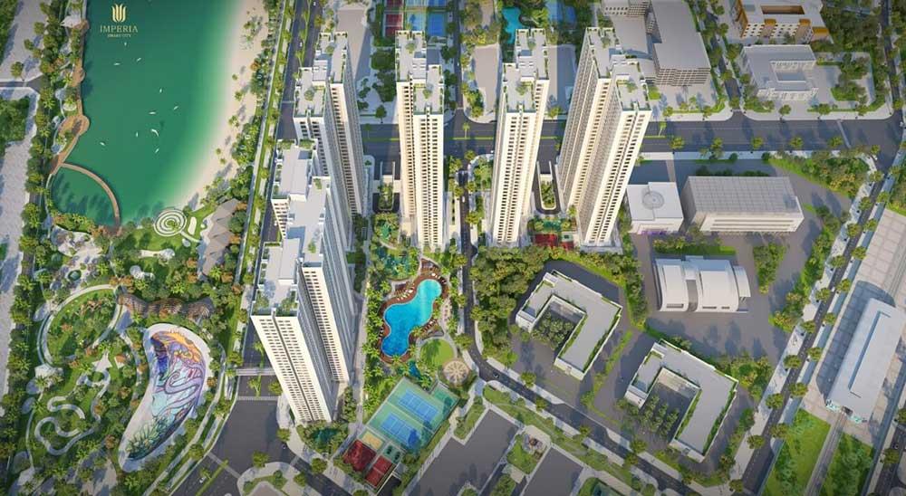 Thiết kế căn hộ CH 06 dự án Imperia Smart City