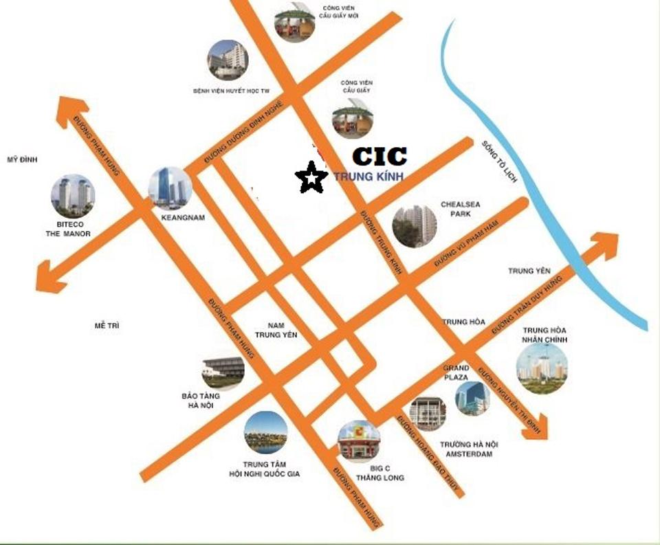 Tiện ích dự án chung cư ICC Building