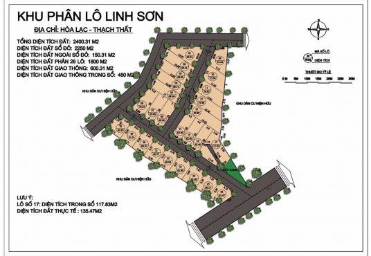 Liên kết vùng 26 lô Linh Sơn Hòa Lạc