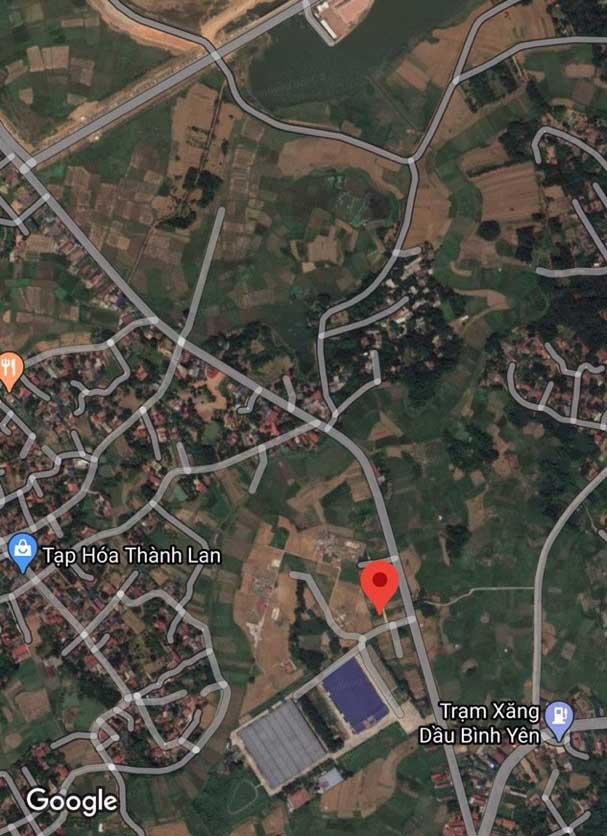 Vị trí 04 lô đất mặt đường xã Bình Yên, huyện Thạch Thất, TP Hà Nội - Đất nền khu công nghệ cao Hòa Lạc