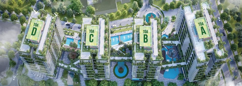 Vị trí dự  án Sunshine Green Iconic Long Biên