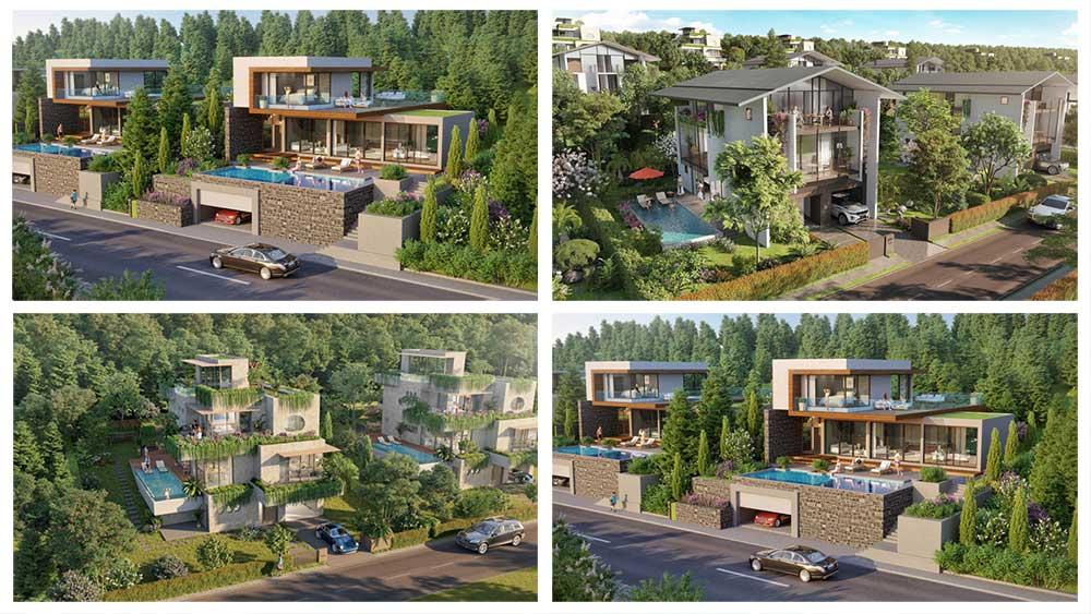 Mẫu thiết kế biệt thự Legacy Hill Hòa Bình