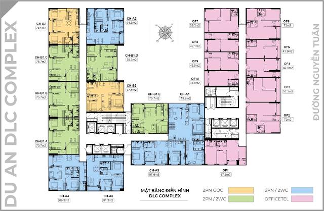 Tiện ích chung cư DLC Complex