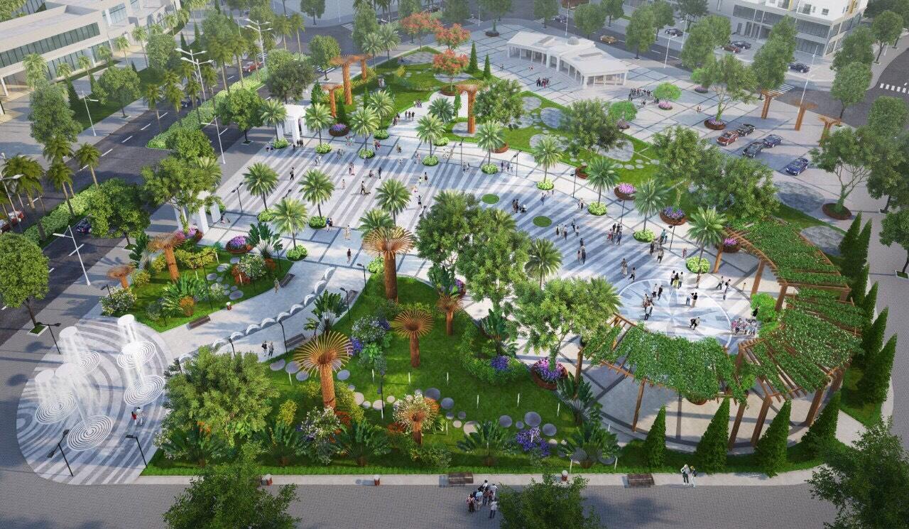 Tiện ích đầy đủ tại khu đô thị Him Lam Green Park