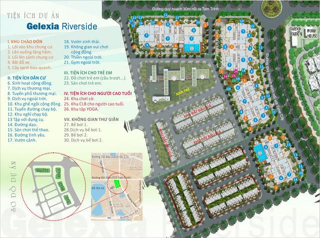Phối cảnh dự án chung cư Gelexia Riverside