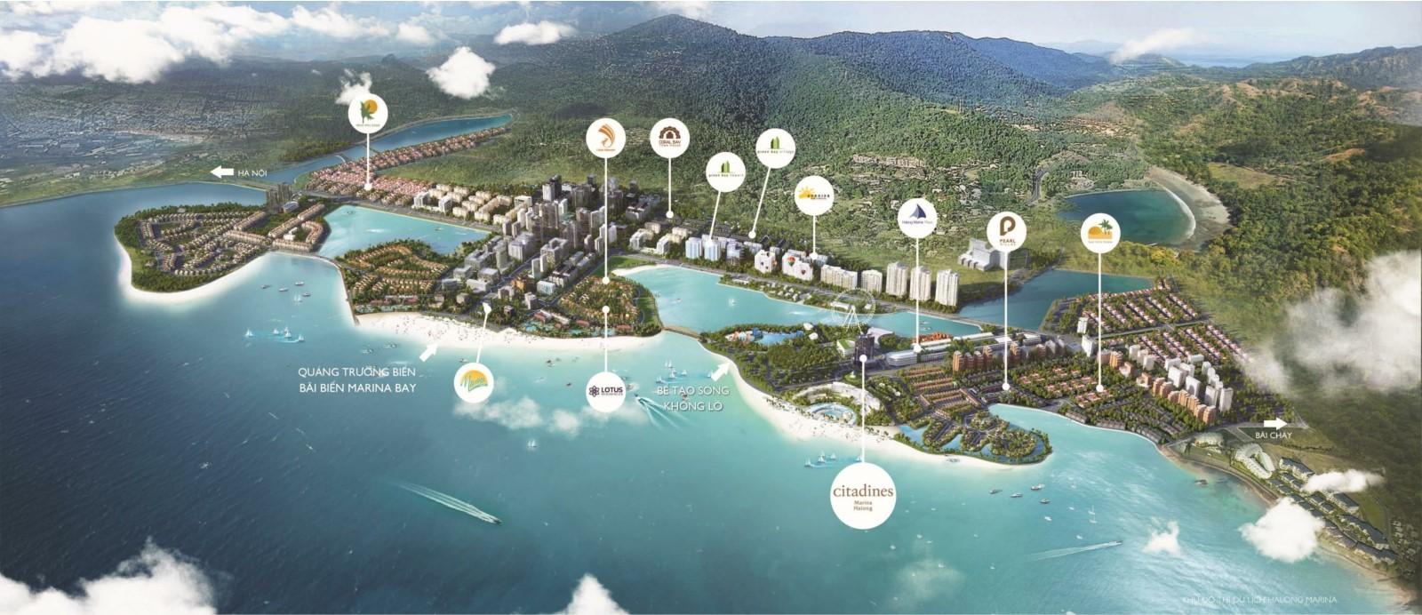 Mô phỏng dự án Citadines Marina Hạ Long