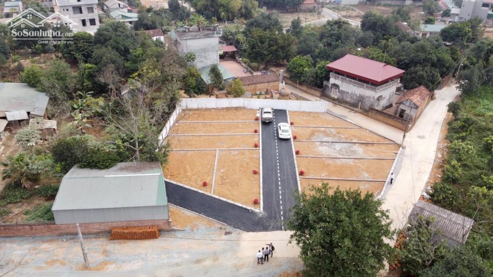 10 lô Sen Trì vị trí đắc địa sát Khu CNC Hòa Lạc, rất HOT giá rẻ chỉ từ 800tr/lô FULL thổ cư