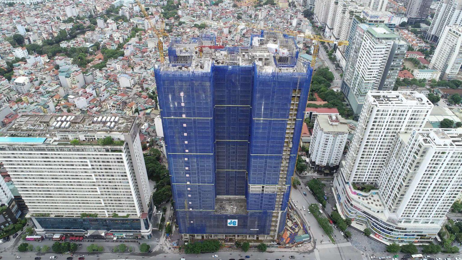 Chung cư BRG Diamond Residence 25 Lê Văn Lương