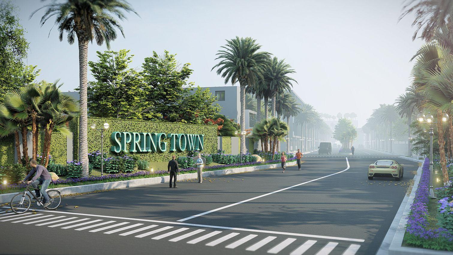Khu đô thị The Spring Town Xuân Mai