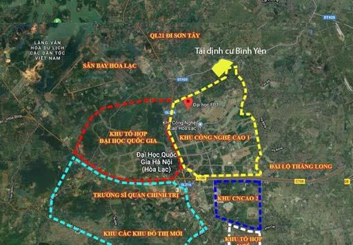 24 lô Tái Định Cư Bình Yên mặt đường tỉnh lộ 420 đang mở rộng