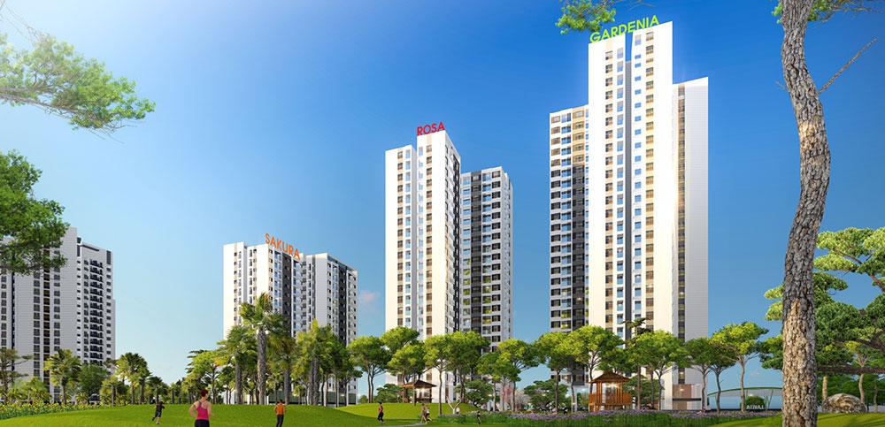 Chung cư Hồng Hà Eco City