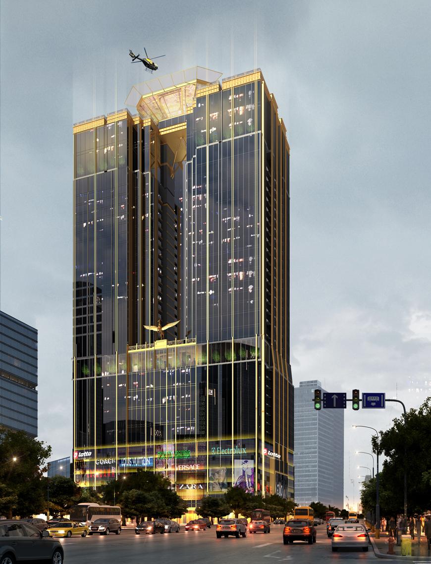 Chung cư Sunshine Center