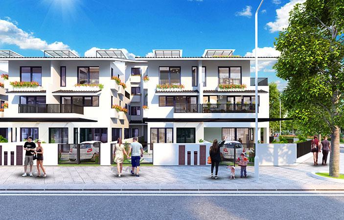 Biệt thự song lập Iris Homes - Gamuda Gardens