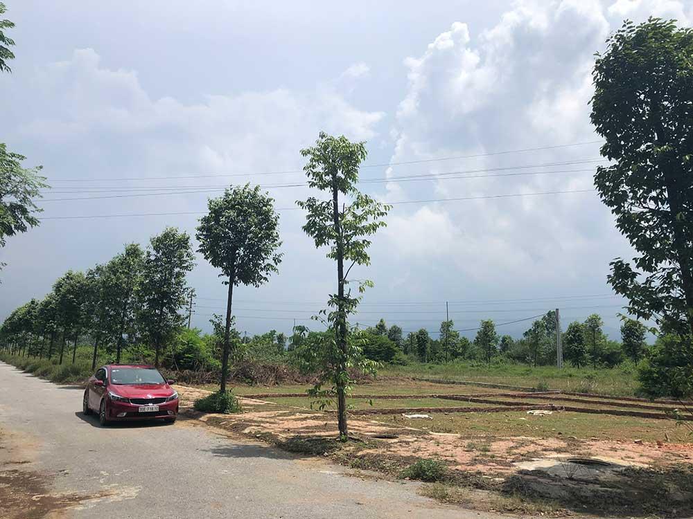 16 lô tái định cư Đại học Quốc Gia - Khu CNC Hòa Lạc