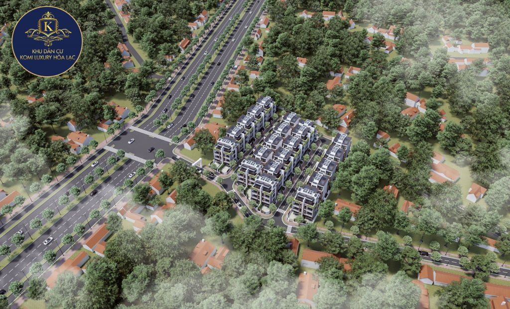 Đất nền Phú Mãn Komi Luxury I - Đất nền khu CNC Hòa Lạc