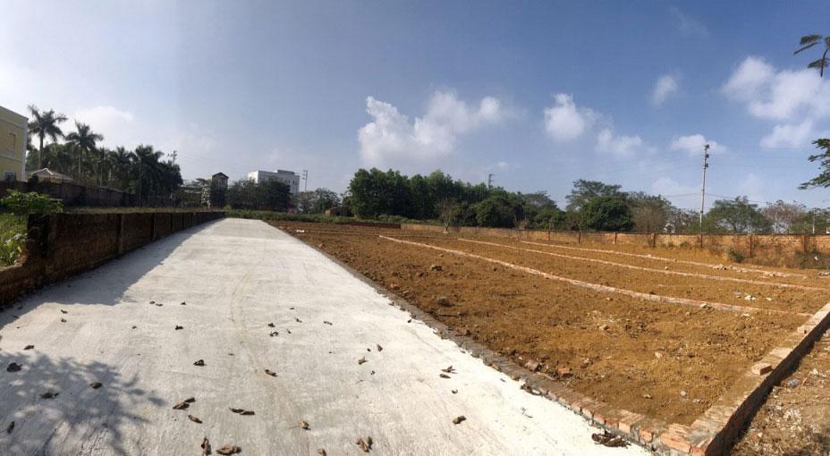 10 Lô đất nền khu tái định cư Phú Cát, Quốc Oai, Đất TĐT Hòa Lạc Vị trí đẹp