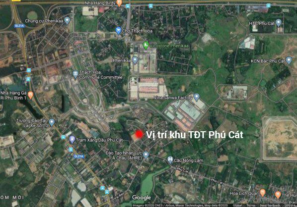 Khu đất tái định cư Phú Cát, đất nền TĐC Vai Réo