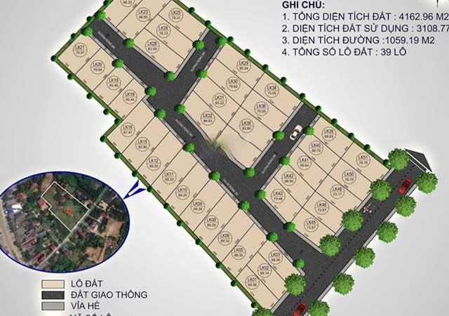 39 Lô Đất Nền Phú Cát – Hòa Lạc DT 65-100m2 Full Thổ Cư Cách QL21 50m
